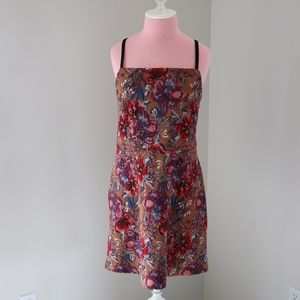Urban Outfitters Jacquard Floral Print Knit Dress